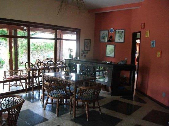 Pousada Porto Escondido: Dinning room