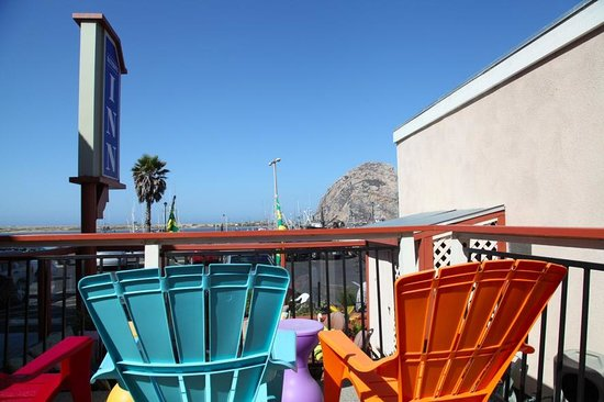 Bayfront Inn : vue sur Morro Rock