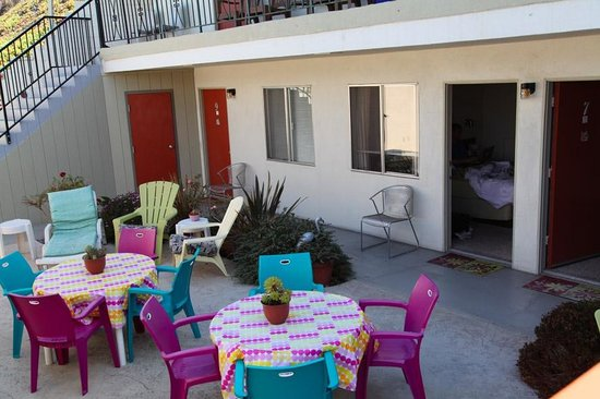 Bayfront Inn : terrasse