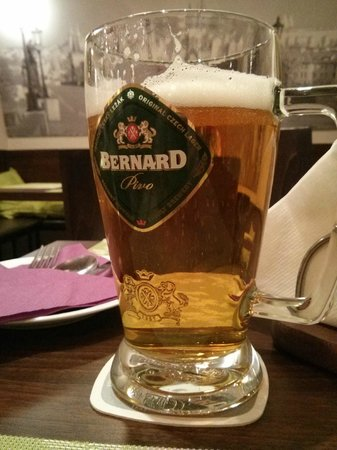 Zlata Ulicka: Bernard, a family owned Czech brewery, produces a classic light lager.