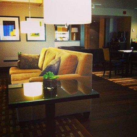 Sheraton Seattle Hotel: Sheraton Seattle Club lounge