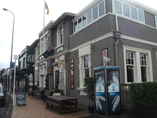 De Post Belgian Beer Cafe : It's the old post office in Mt Eden