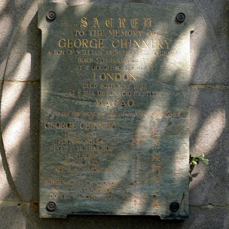 George Chinnery burial site in Macau - Picture of Old Protestant Cemetery,  Macau - Tripadvisor
