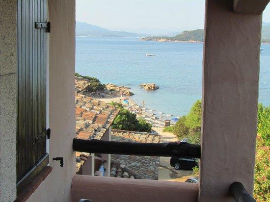 Hotel Capriccioli : Vista desde la habitación