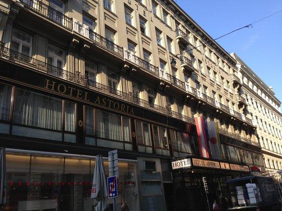 Austria Trend Hotel Astoria Wien: 外観