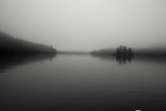 Northern Edge Algonquin: Foggy day, but still gorgeous!