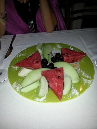 Eva's Garden Restaurant : Frutta