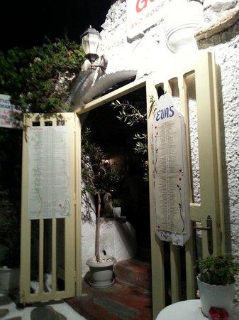 Eva's Garden Restaurant : Ingresso
