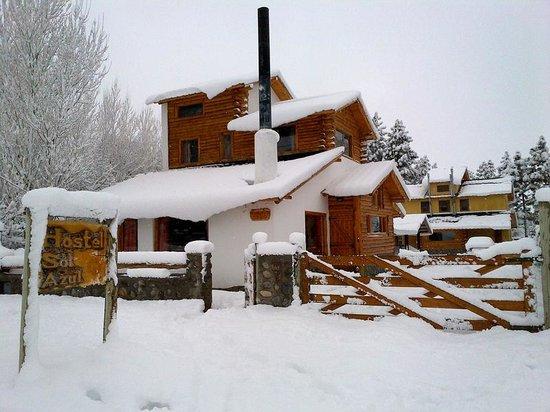 Hostel Sol Azul : el hostel nevado
