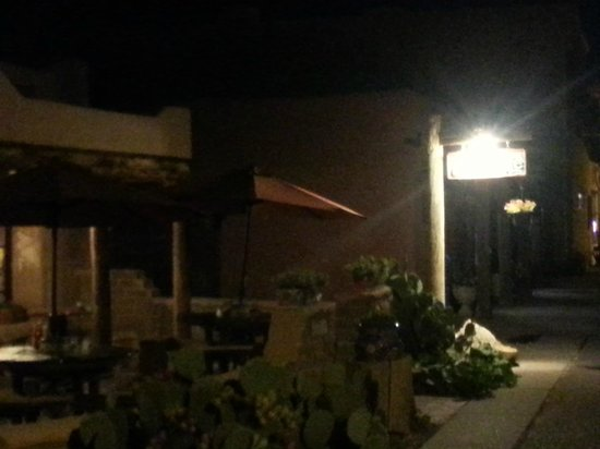 Church Street Cafe: Night time view of front.