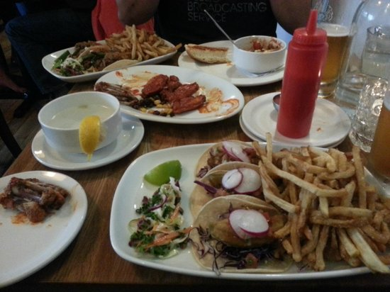 Blue Star Diner: The feast!