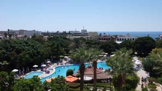 Avanti Hotel: View from Room 5026, top floor