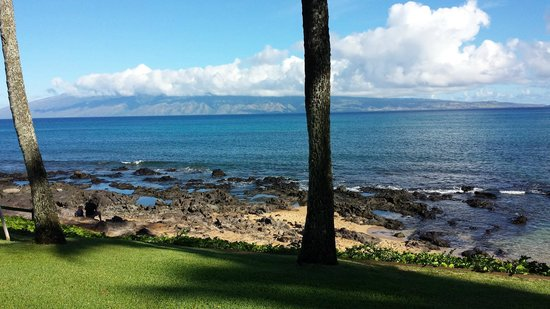 Napili Shores: View from our lanai