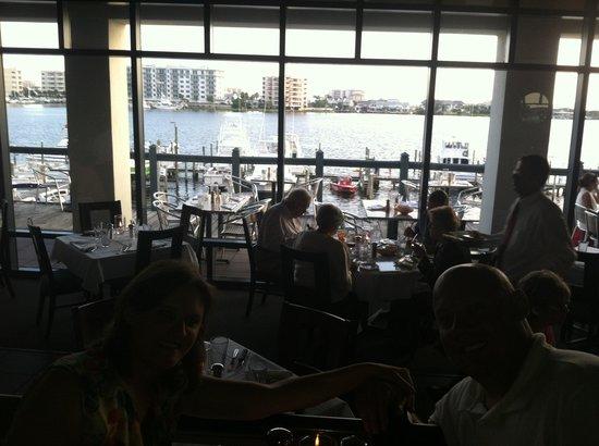 Marina Cafe: View