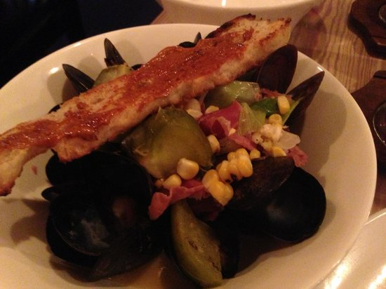 The Wine Kitchen on the Creek : Mussels