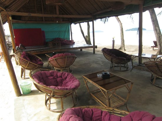 Papa Pippo Bar, Restaurant & Bungalows : area relax