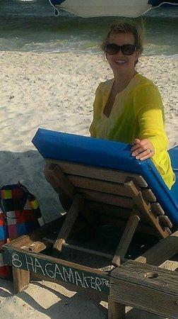 Hampton Inn & Suites Orange Beach : The rented lounge chair.  Worth every penny.