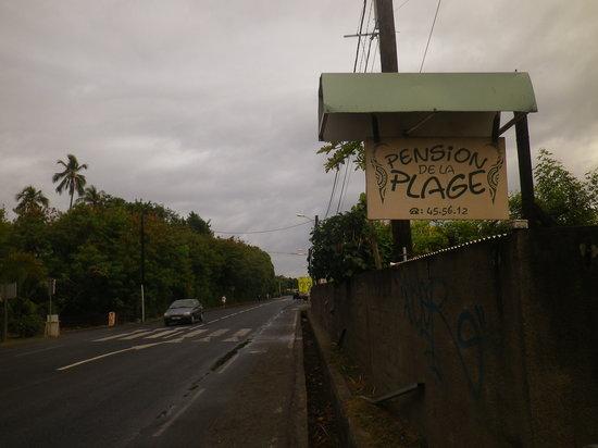 Pension de la Plage Tahiti : Pension de la Plage