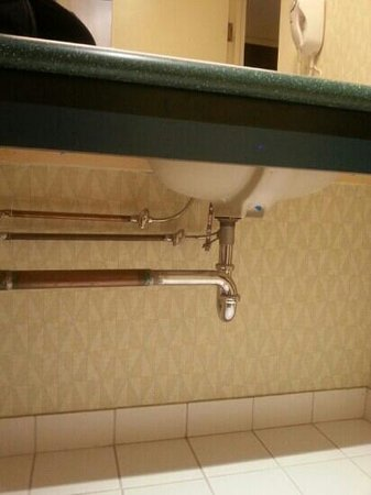 Residence Inn Ottawa Downtown: While on the toilet, you can study the intricacies of modern day plumbing.