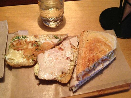 Duckfat : Turkey panini