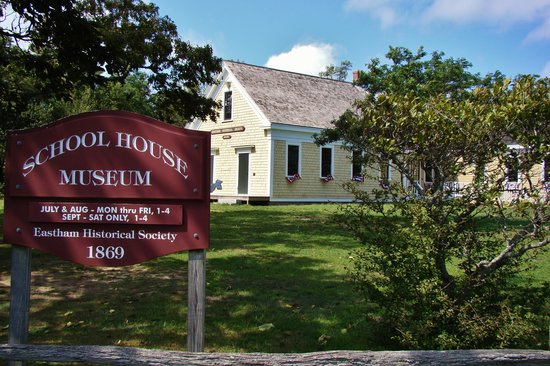 The 1869 Schoolhouse Museum: Outside the Schoolhouse Museum.