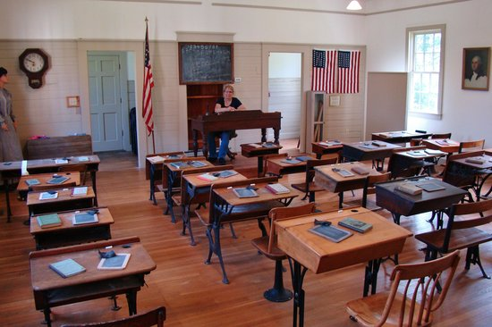 The 1869 Schoolhouse Museum: Inside the Schoolhouse Museum.