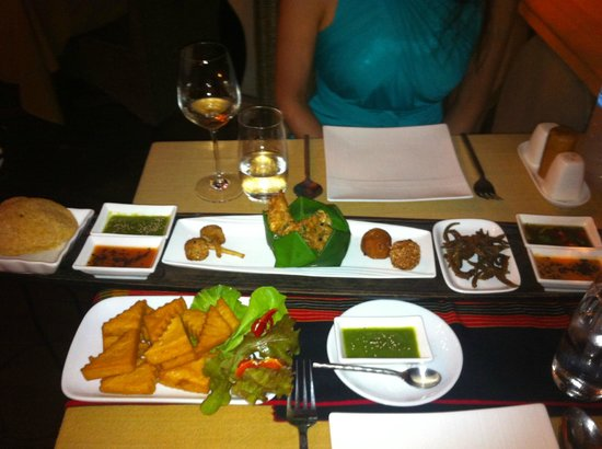 The Shan Restaurant : Shan Discovery Menu