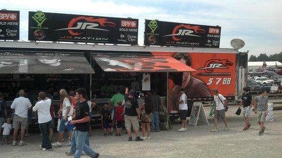 Mid Ohio Sports car course: vendors