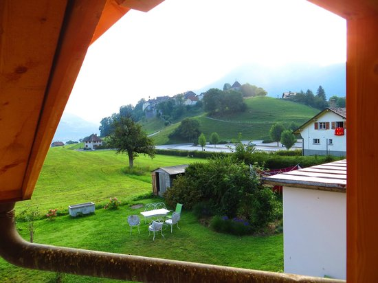 La ferme du bourgoz : The view of the castle from our room