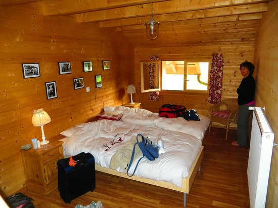 La ferme du bourgoz : bottom room of our accommodation