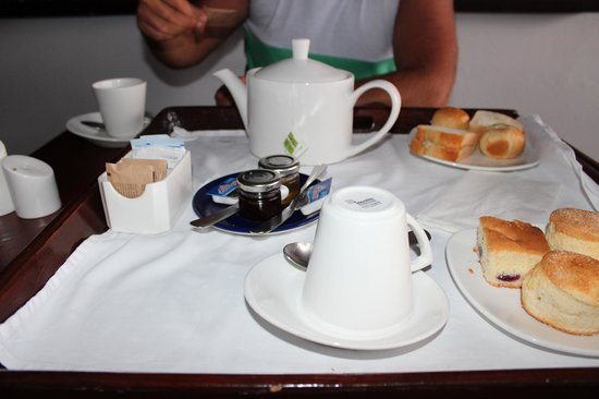 The House by Elegant Hotels: Our daily Tea for Two
