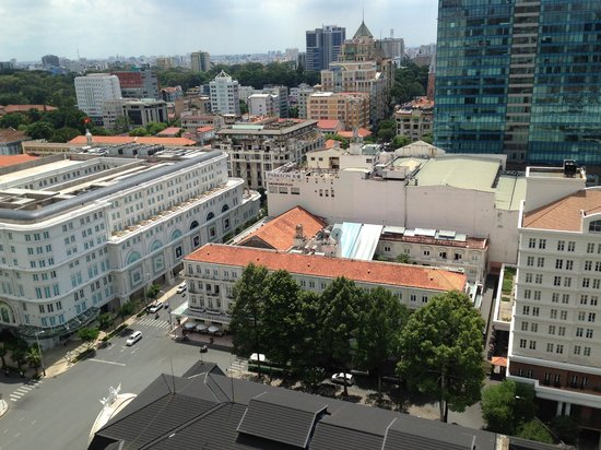 Caravelle Saigon: View from my room
