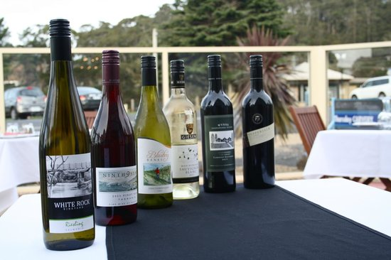 Jetty Restaurant: Some of our wine selection