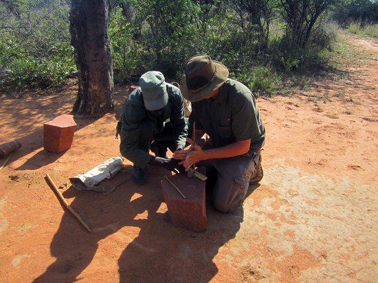 Okonjima Bush Camp: Bushman Trail activity
