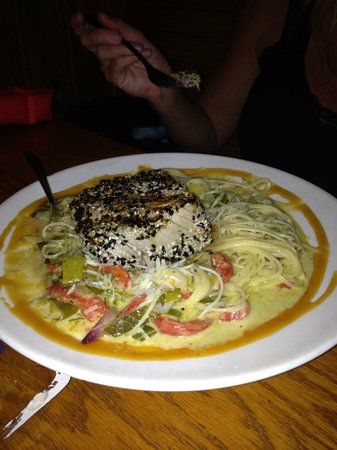 Captain Charlie's Reef Grill: Tuna
