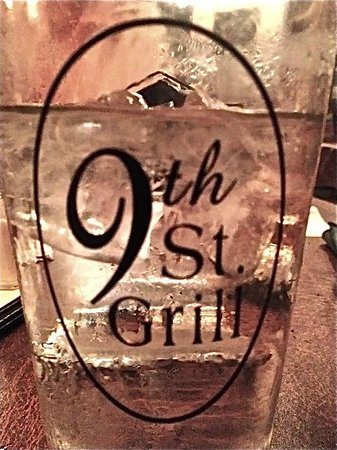 9th St. Grill: Glass of Water