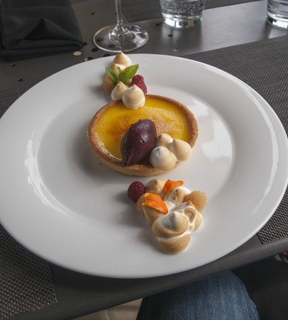 Terrace Restaurant : One wonderful dessert.