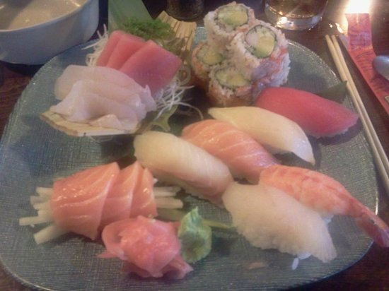 Japan One: sushi and sashimi for 1