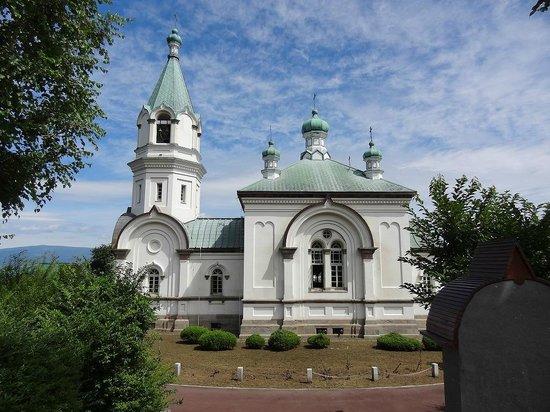 Hakodate Orthodox Church : 青空に映える美しい聖堂