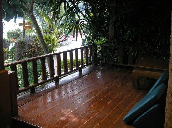 Ko Tao Resort: Our balcony