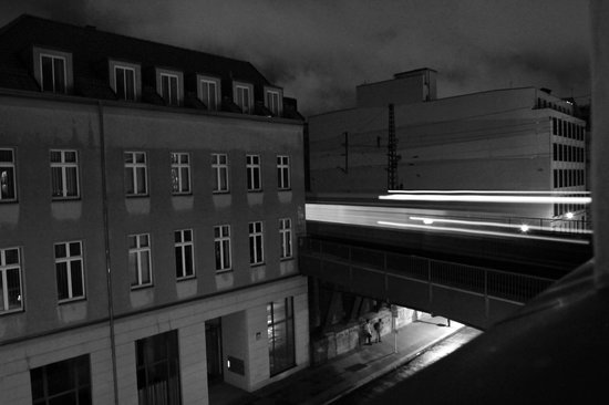 Arte Luise Kunsthotel: view from the hotel room on the street side