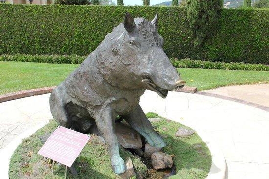 Ferrari-Carano Winery: Bronze Wild Boar