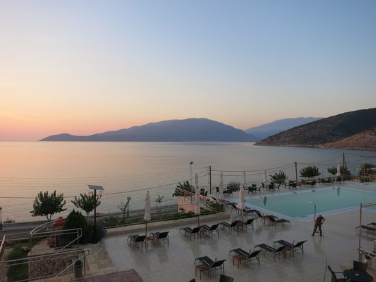 Odyssey Hotel Kefalonia: Early morning from hotel room