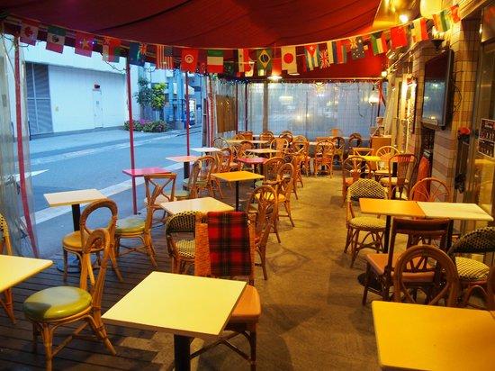 サクラホテル池袋, カフェのテラス席 Cafe