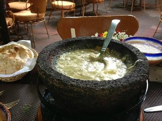 Casa Fuerte: Queso Fundido Appetizer.  We could have made this alone a meal!