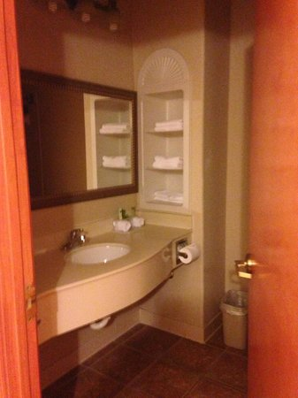 Bathroom Picture Of Holiday Inn Express Hotel Suites Brownsville Brownsville Tripadvisor