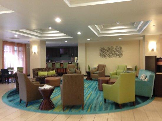 Springhill Suites Houston Medical Center/ NRG Park : Lobby