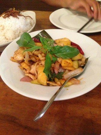 Burma Superstar Restaurant: Mango Chicken