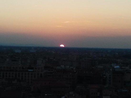 Torre Prendiparte: tramonto