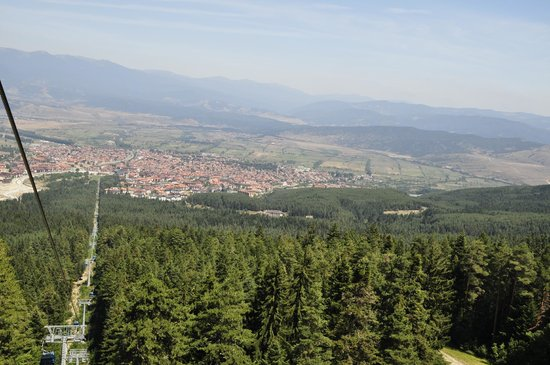Hotel Gazei : Bansko from above